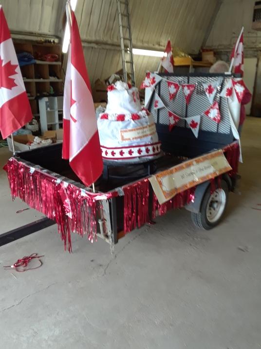 July 1 Parade entry Argyle WI