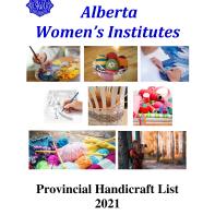 2021 Handicraft list